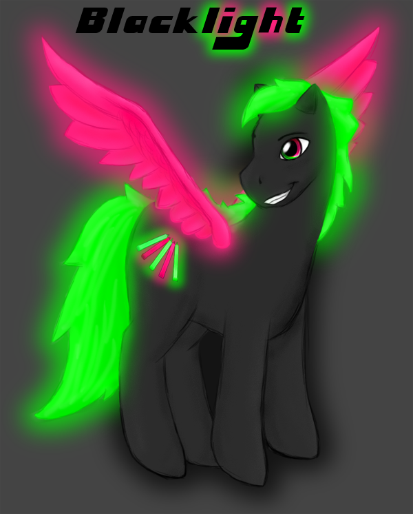 My Little RAVE-PONY by kamokirby