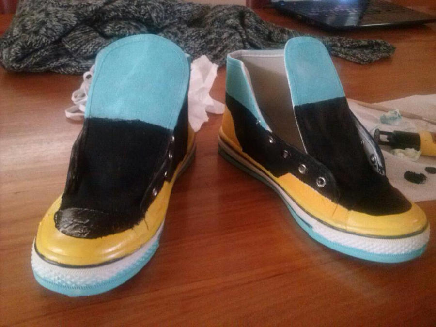 DMMd - Aoba shoes by ChibiKirin