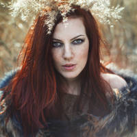 Ophelia. Northern Fire Portrait by RavenaJuly