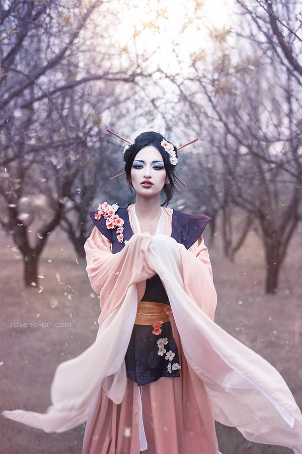 Melancholy of Sakura by RavenaJuly