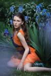 Nadya and Irises