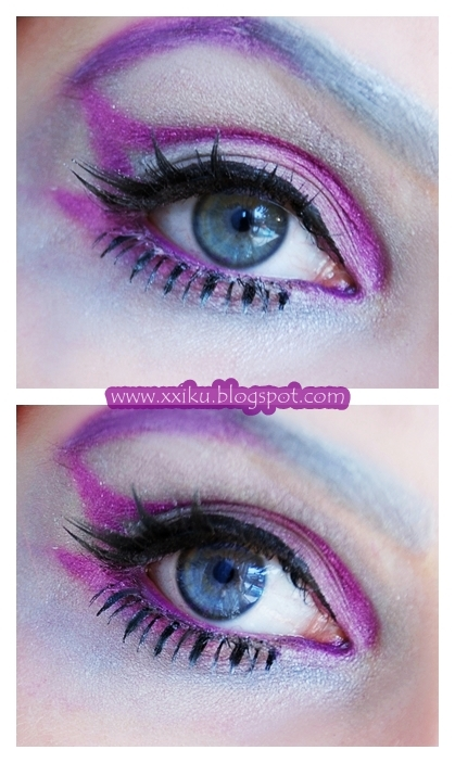 silver and violet by IkuLestrange