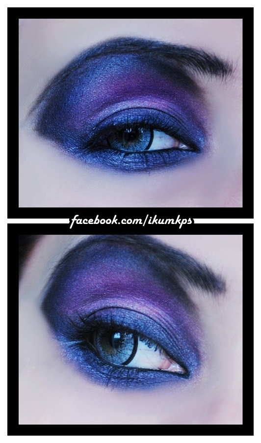 purple smokey by IkuLestrange