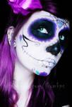 Evil Dolls logo makeup