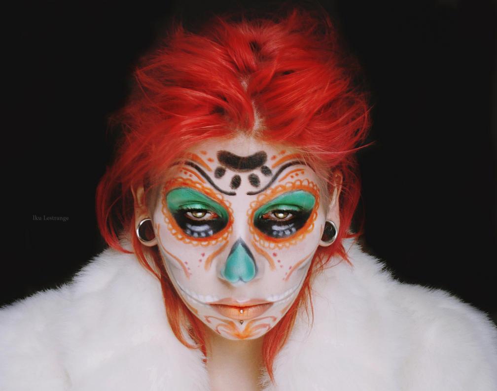 Sugar skull by IkuLestrange