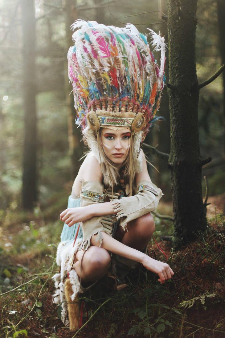 Wild Huntress by IkuLestrange