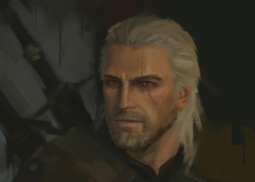 Geralt by Welehort