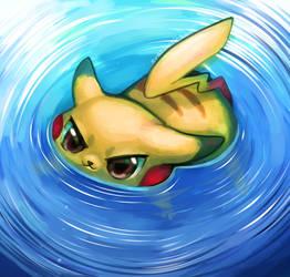 He swim by EverlastingDerp