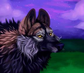 Purple Sky by EverlastingDerp