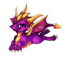 Spyro the Dragon by EverlastingDerp