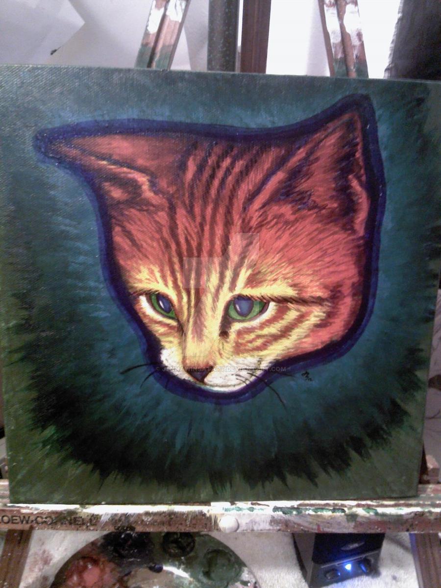 Rainbow Kittie has PRIDE! by Jennawinsatart