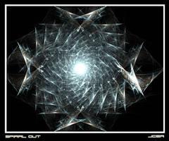Spiral Out Framed