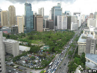Makati District by jcer