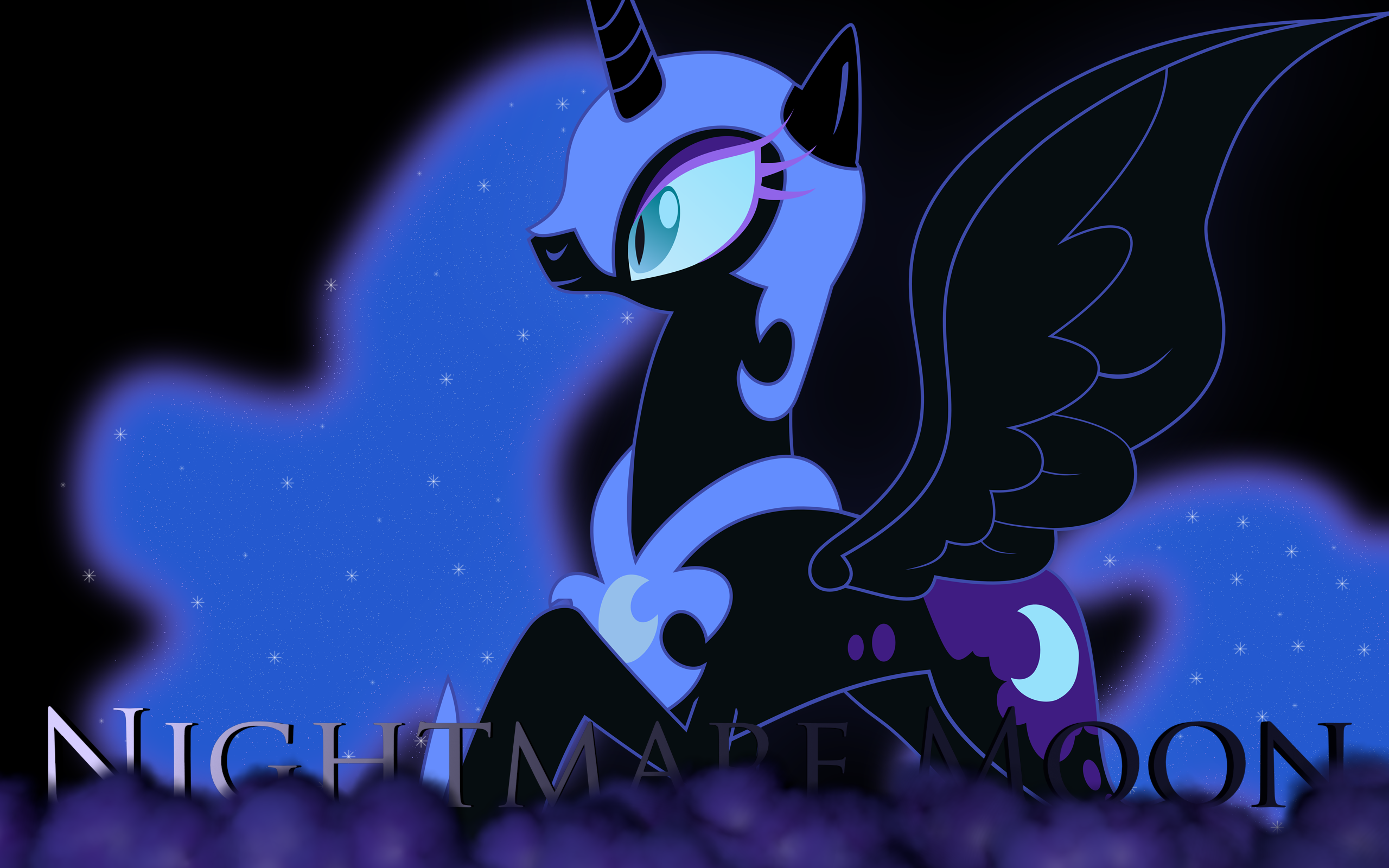 Nightmare Moon: Not a Bad Lady by Lextsy on DeviantArt