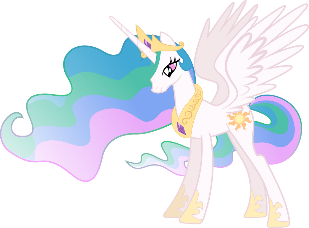 Princess Celestia Vector by Lextsy