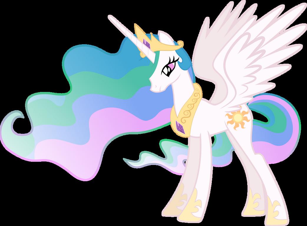 Princess Celestia Vector by Lextsy