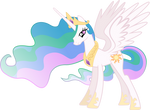 Princess Celestia Vector