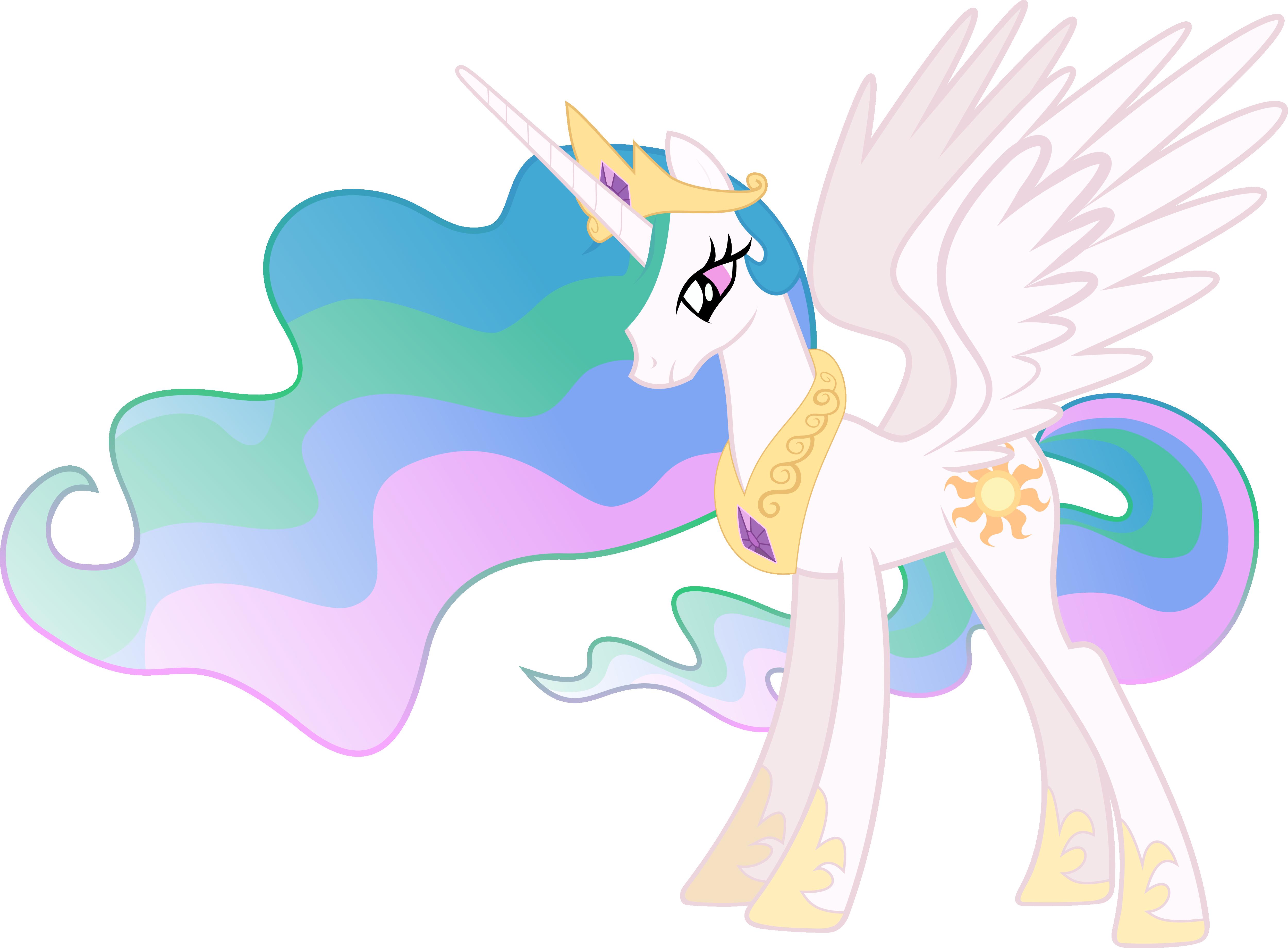 Princess Celestia Vector