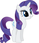 Peppy Rarity Vector