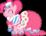 Joyous Pinkie Pie Vector