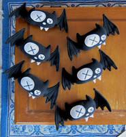Dead Bat Logo Plush by suzannahashley