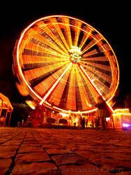 Night ferris wheel by sirena-pirey