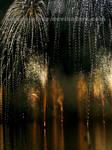 Fireworks rain
