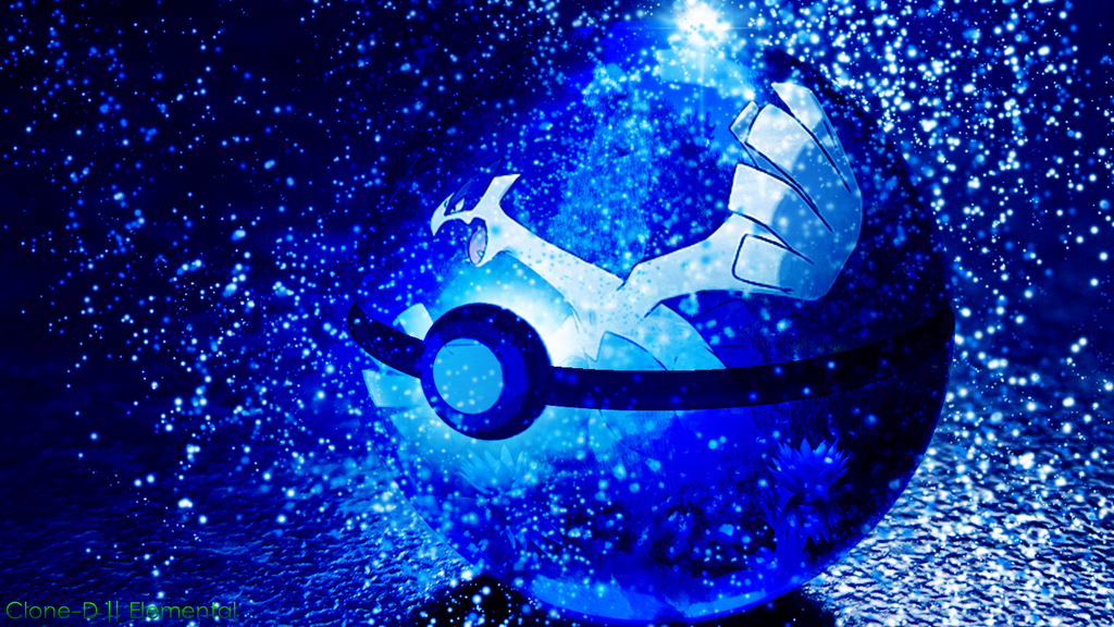 lugia in a pokeball by clone d on deviantart