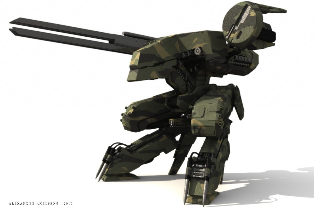 Les plus beau Clin d'oeil d'Halo 4 Metal_gear_rex_wip5_by_alxshipyards-d332nu0