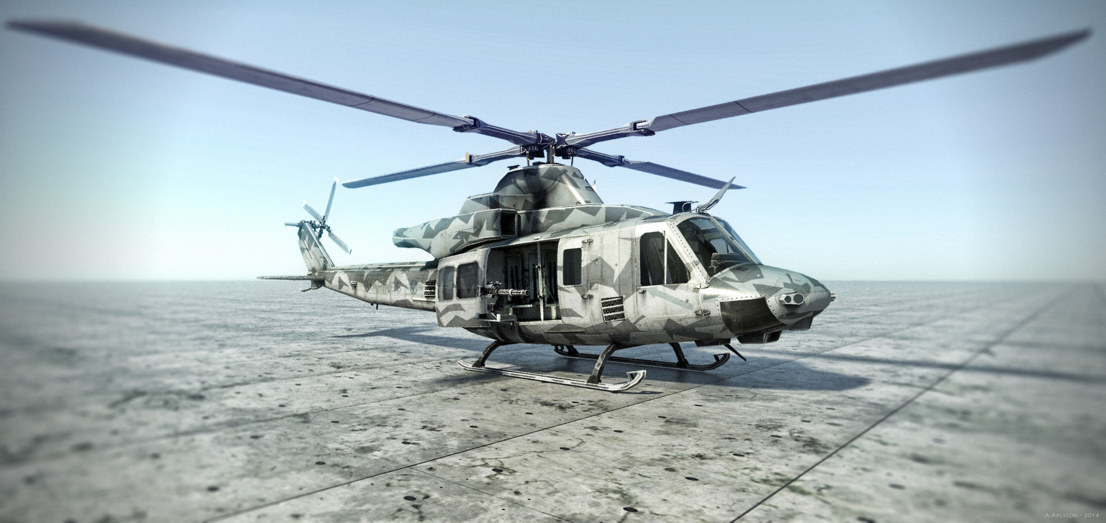 Huey01 by AlxFX