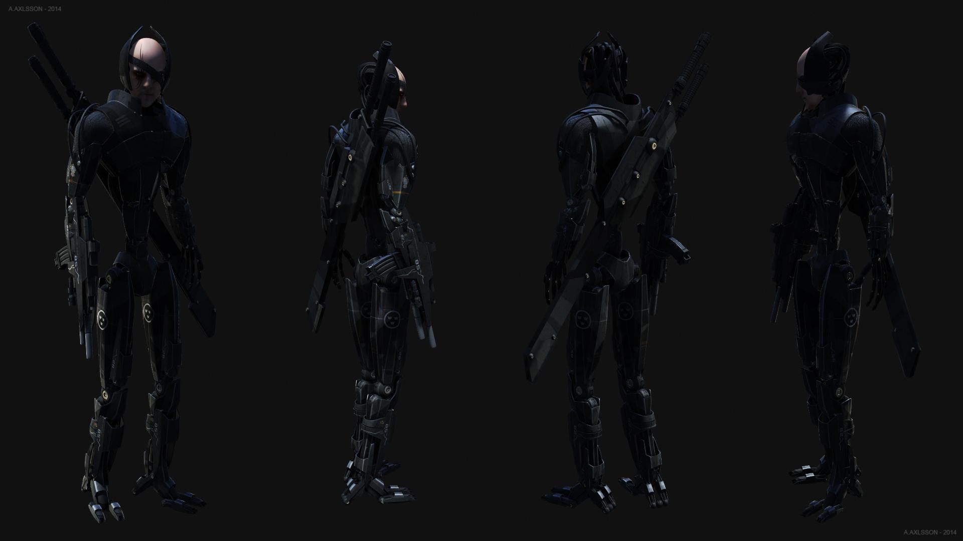 Cyborg 2014 by AlxFX