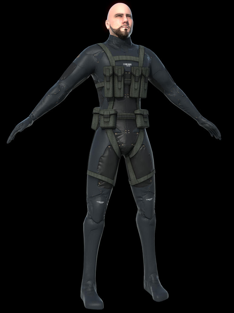 Sneaking Suit by AlxFX