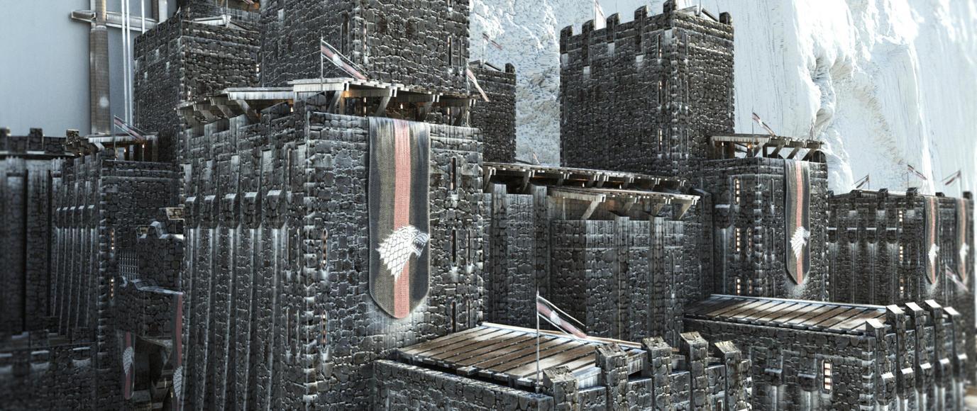 Castle Black 3 by AlxFX