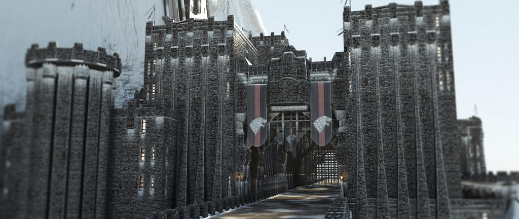 Castle Black 4 by AlxFX