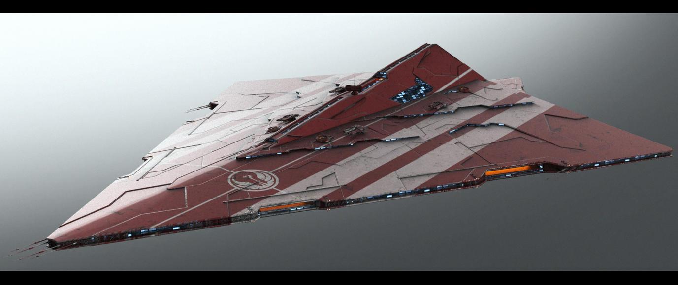 Triangle Ship v2.0 by AlxFX