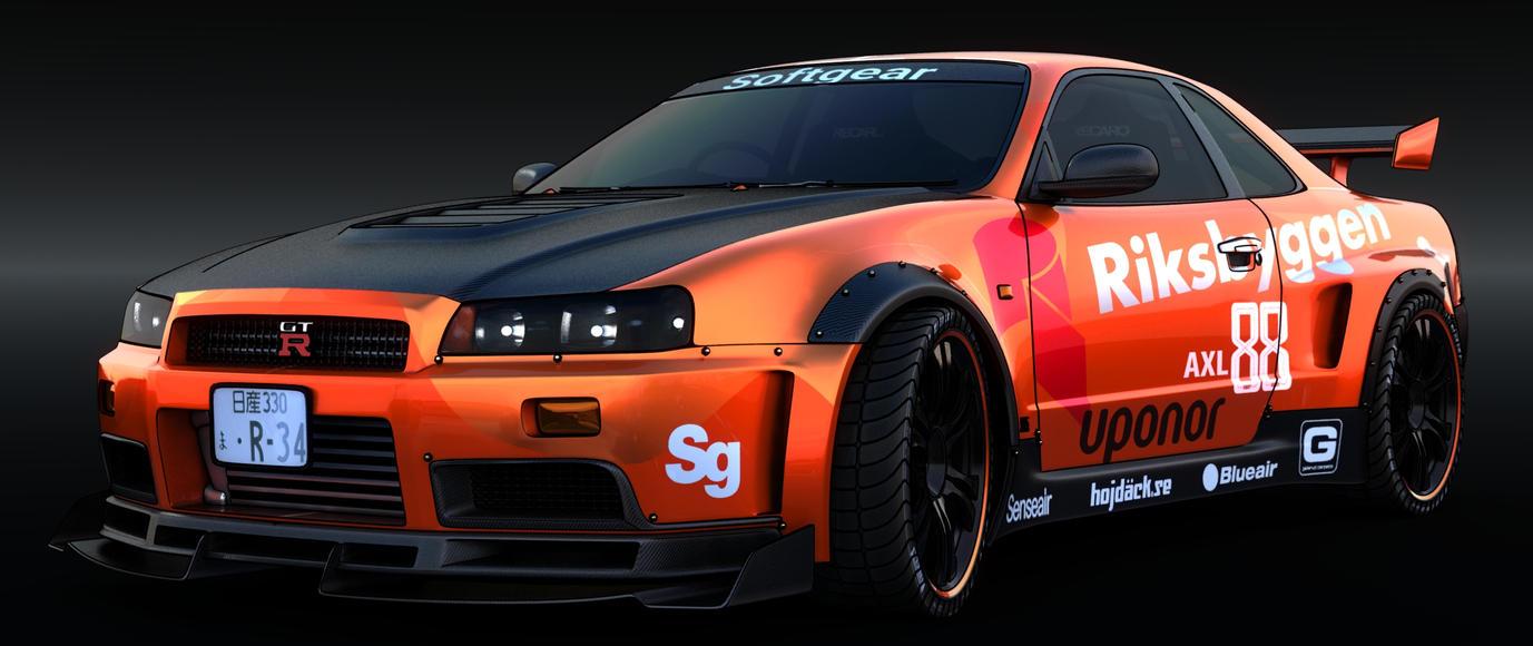GTR Casecar by AlxFX
