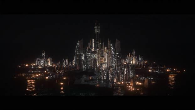 Atlantis by night 4k