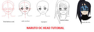 simple naruto head tutorial