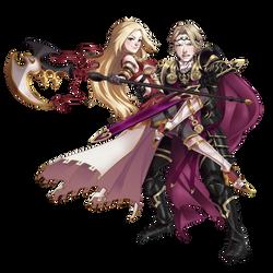 CM: Power Couple by Humana-Animus