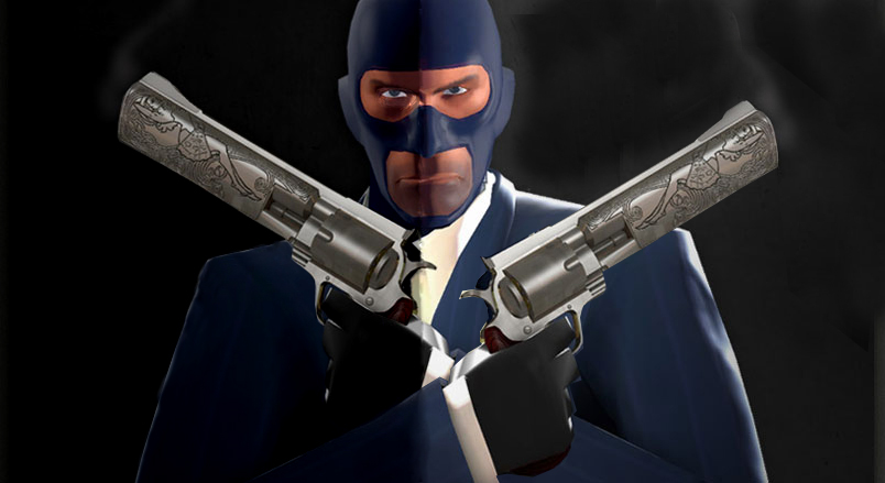 TF2_Blu_Spy_with_Akimbo_Ambass_by_Italia