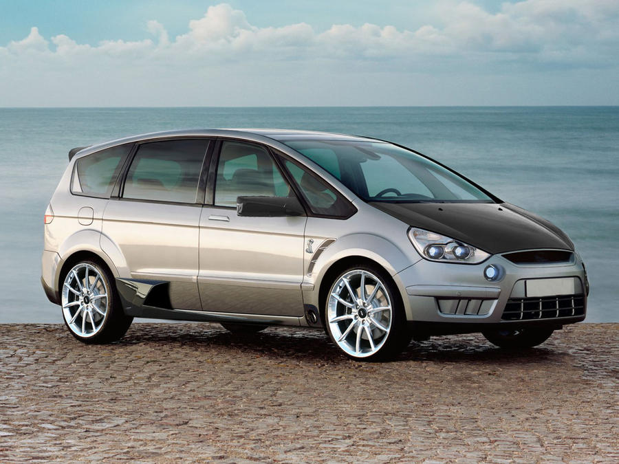 ford s max tuning wolf. Black Bedroom Furniture Sets. Home Design Ideas
