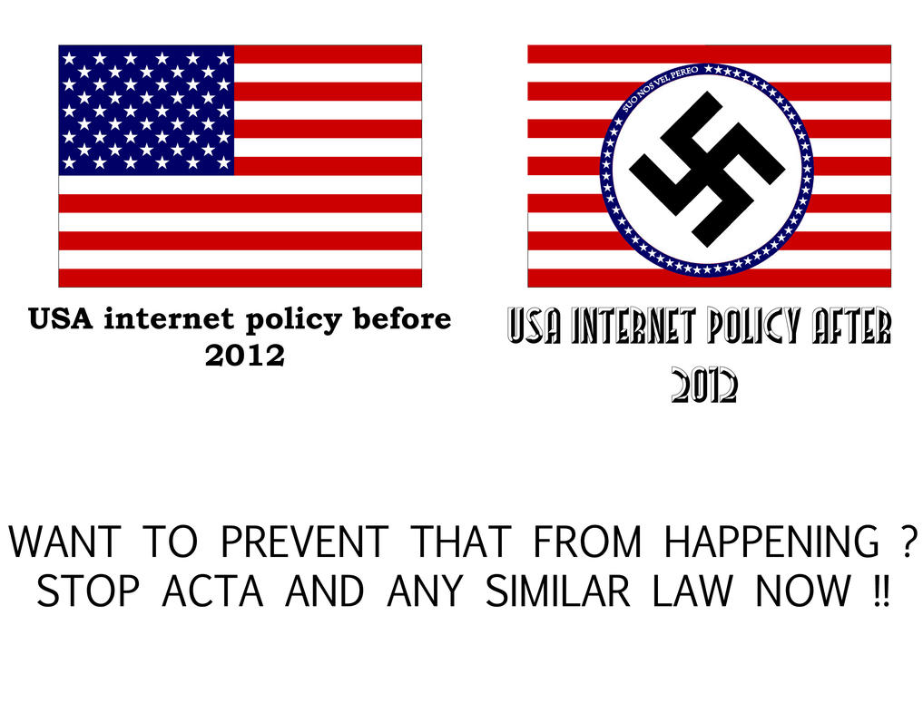 USA Internet policy before-after 2012 by ItalianDragon
