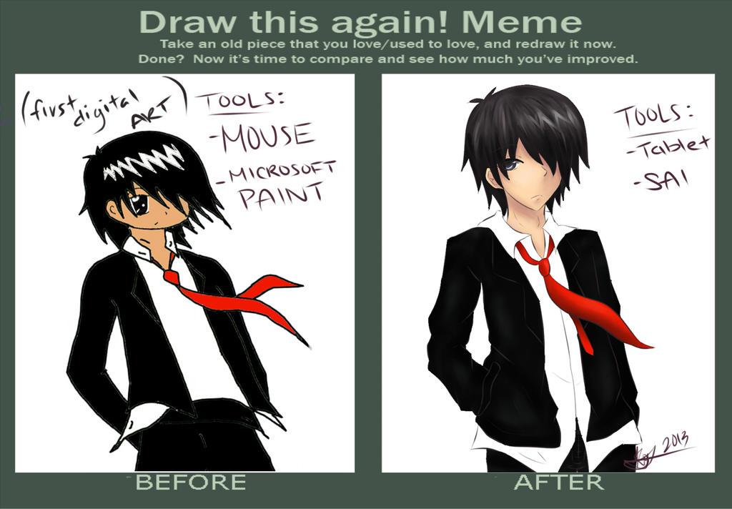 Improvement Meme by kinsanx