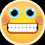 Awkard Grin Emoji