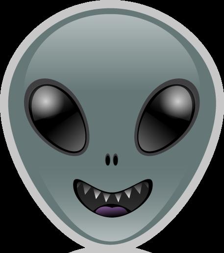 Alien Emoji Transparent
