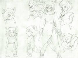 Dragon Ball: Mioka Ahri by MCN51FJ