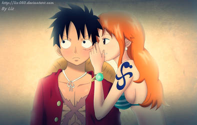 Luffy/Nami by Liz-050