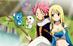 Natsu x Lucy: Fishing