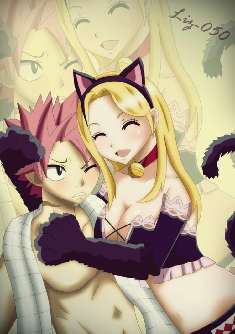 Natsu x Lucy: Meow by Liz-050