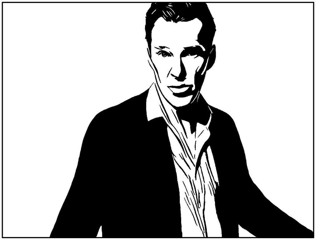 Benedict Cumberbatch by LEONHAGEN